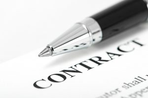 Contract lening kopen auto