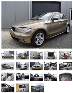 Foto's advertentie auto